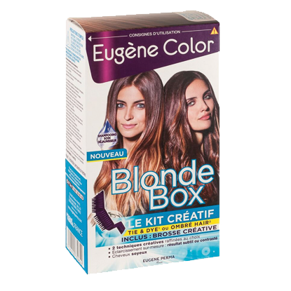 Kit de Coloration - Le Kit Créatif - Blonde Box - Eugène Color