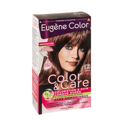 Kit de Coloration - Caramel 6*35 - Color & Care - Eugène Color