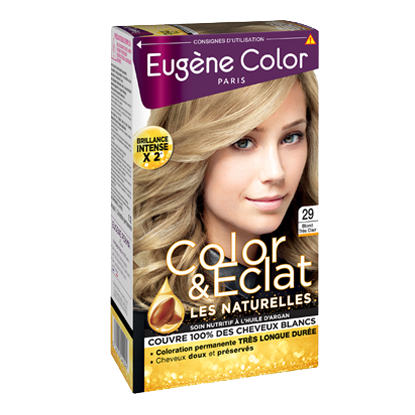 Kit de Coloration - Blond Très Clair 29 - Color & Eclat - Eugène Color
