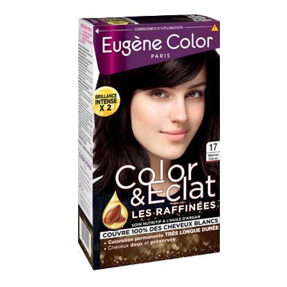 Kit de Coloration - Marron Cacao 17 - Color & Eclat - Eugène Color