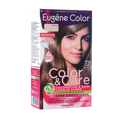Kit de Coloration - Blond Nude 7*31 - Color & Care - Eugène Color