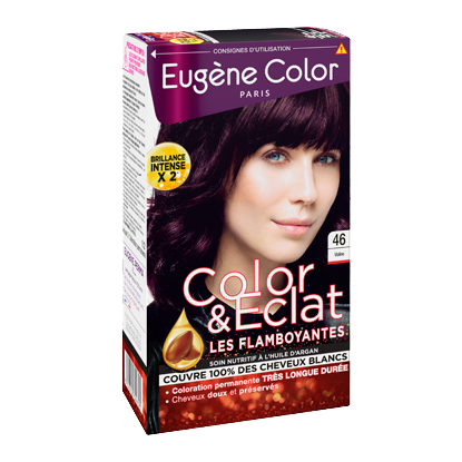 Kit de Coloration - Violine 46 - Color & Eclat - Eugène Color