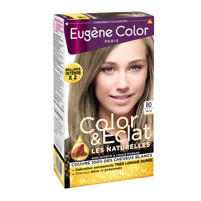 Kit de Coloration - Blond 80 - Color & Eclat - Eugène Color