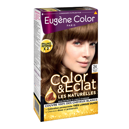 Kit de Coloration - Blond Doré 24 - Color & Eclat - Eugène Color