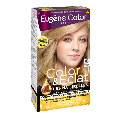 Kit de Coloration - Blond Clair Doré 83 - Color & Eclat - Eugène Color