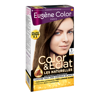 Kit de Coloration - Blond Foncé 9 - Color & Eclat - Eugène Color