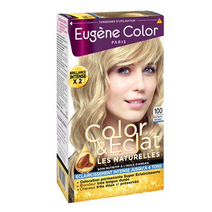 Kit de Coloration - Blond Très Très Clair Naturel 100 - Color & Eclat - Eugène Color