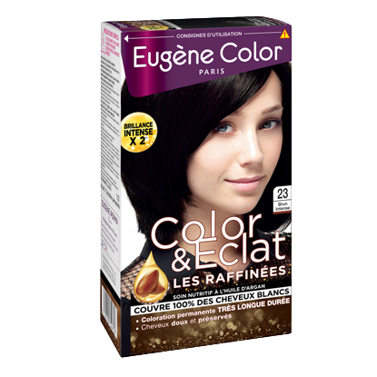 Kit de Coloration - Brun Intense 23 - Color & Eclat - Eugène Color